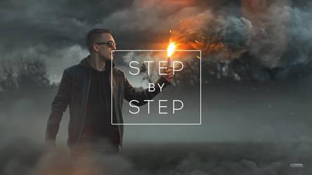 Smoky wood / step by step gif
