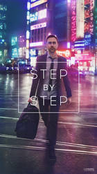 Busy Tokyo / step by step gif