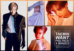 Taemin [Want] Png Pack (3)
