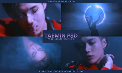 Taemin [Want] PSD by AngellBeats
