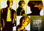 Taemin [Want] Png Pack (4)