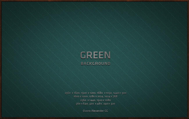 Green Background by Alexander-GG