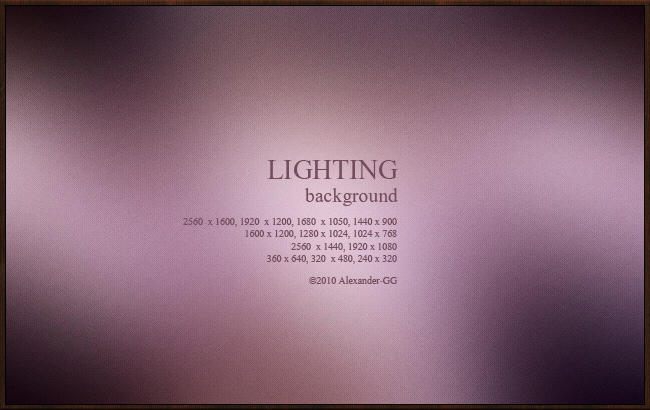 Lighting by Alexander-GG