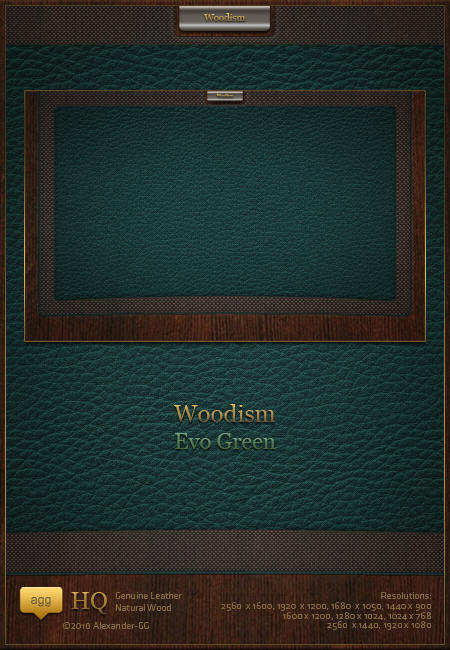 Woodism Evo Green by Alexander-GG