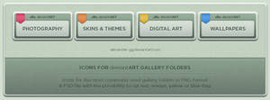 deviantART Gallery Icons