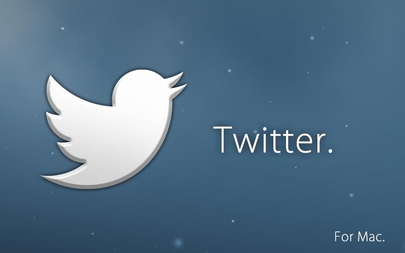 Simple OS X Twitter Icon by osullivanluke