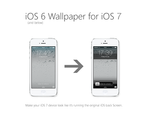 iOS 6+below Lock Screen Theme for iOS 7