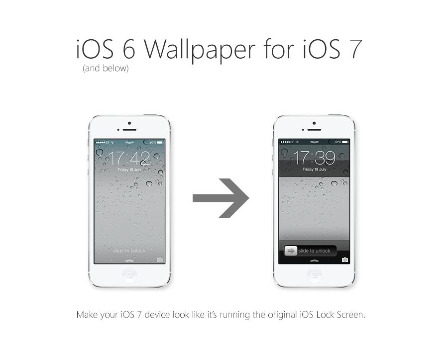 IOS 6 Below Lock Screen Theme For 7 By Osullivanluke