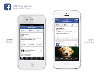 Facebook 2013 App Redesign by osullivanluke