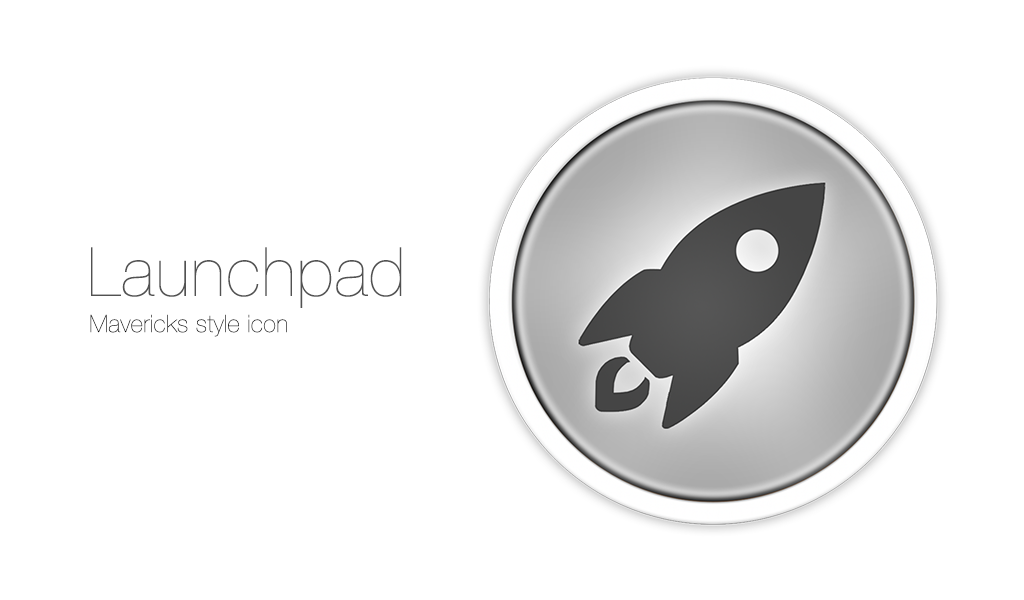 Launchpad Mavericks Style Icon by osullivanluke