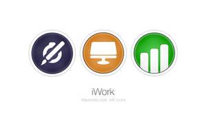 iWork Mavericks Style 'Orb' Icons