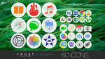 FROST PRO for OS X - ICON SET - **now FREE**