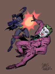 Batman66covercolor by SpawnofSprang