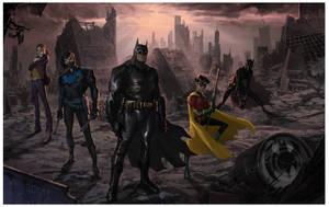 Batman: No Man's Land pitch piece