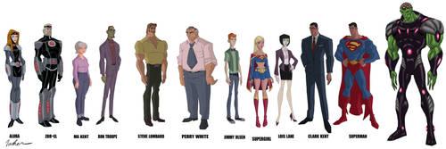 Superman Unbound designs by SpawnofSprang