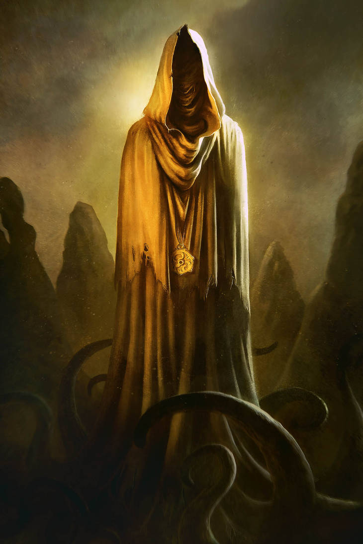 Hastur, The King in Yellow by BorjaPindado