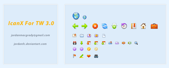 icanx icons by jordanfc