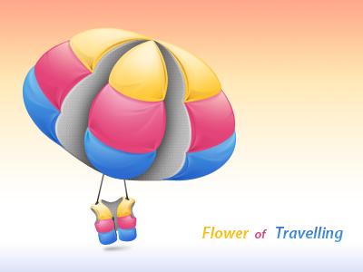 Flower of travelling by jordanfc