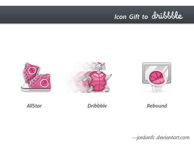 icon gift to dribbble
