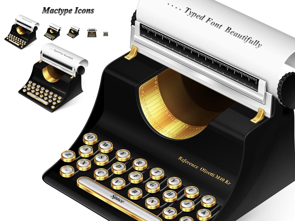 mactype icon by jordanfc