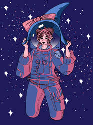 Space Buns by Vossen-Art