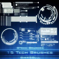 Btech Brushes by XxNaotenxX