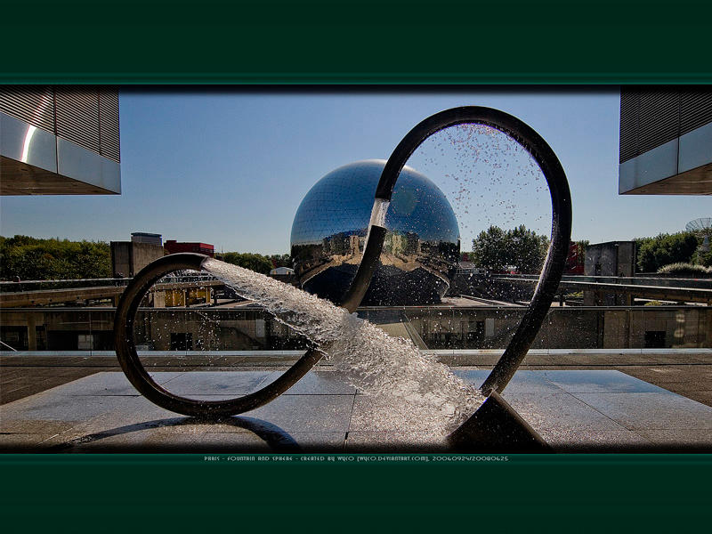 Fountain + Sphere - WP Wide+N by Wyco