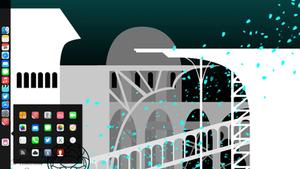 Black Dock for Mountain Lion by k-profiler