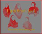 Hijab Brush Set 01