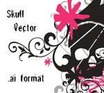 Skull Vector AI by krtulina
