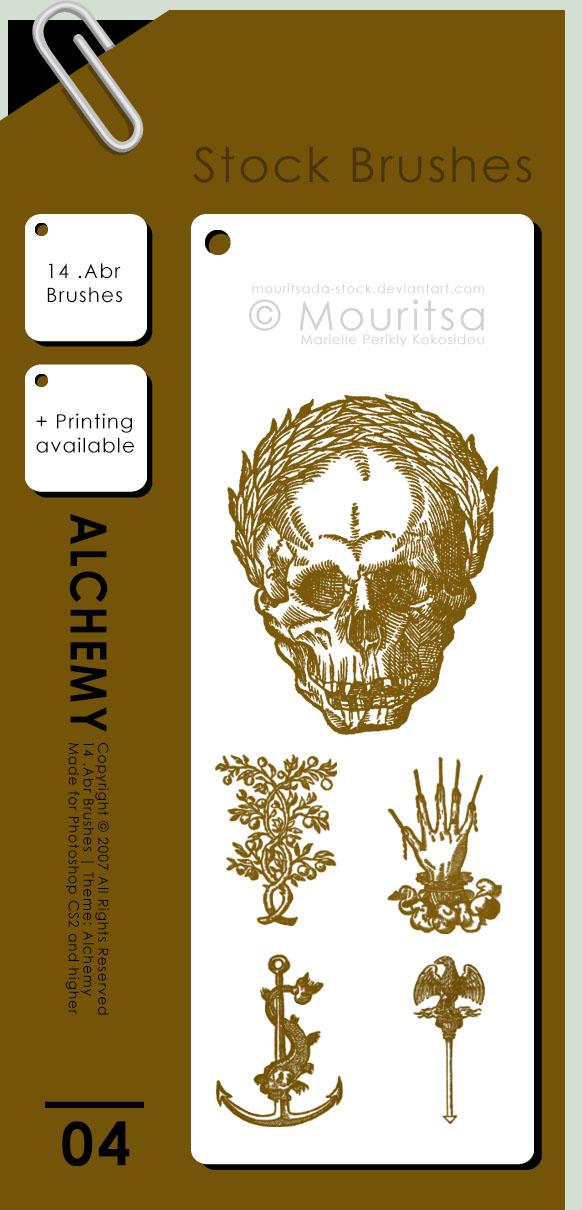 Brush Pack - Alchemy by MouritsaDA-Stock