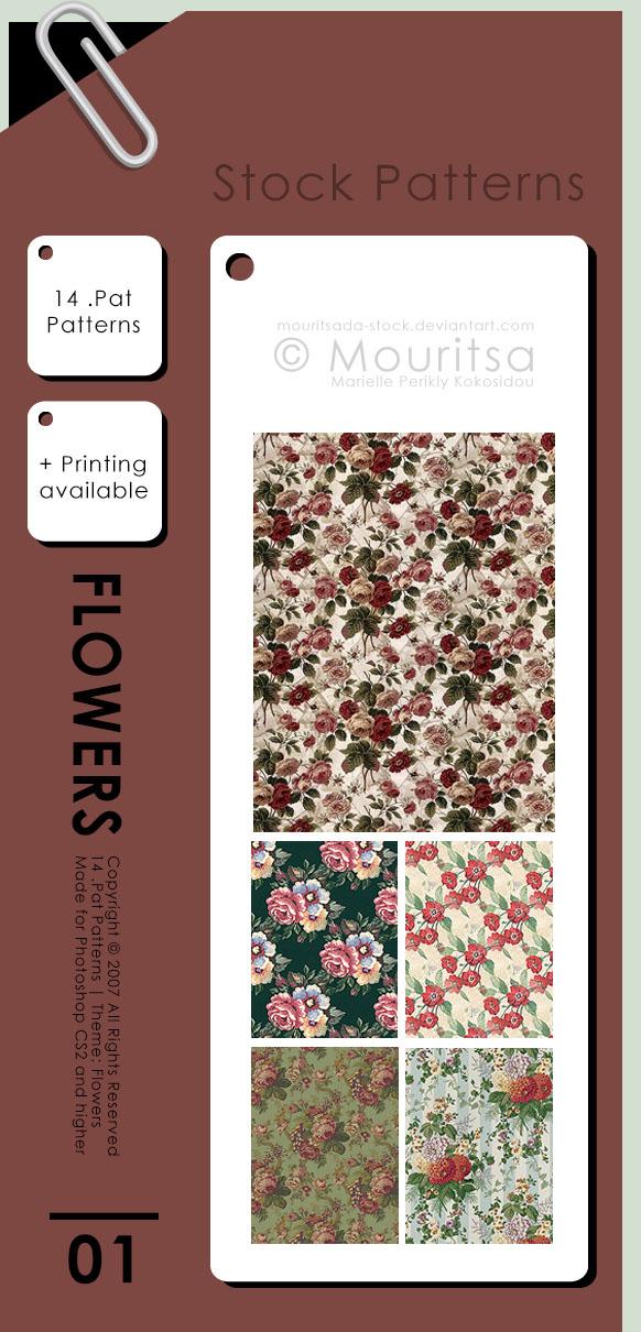 Pattern Pack - Flowers by iMouritsa