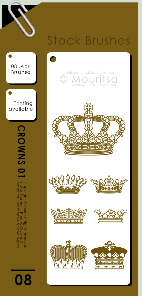 Brush Pack - Crowns 01
