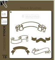 Brush Pack - Scrolls by iMouritsa