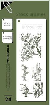 Brush Pack - Japanese Floral