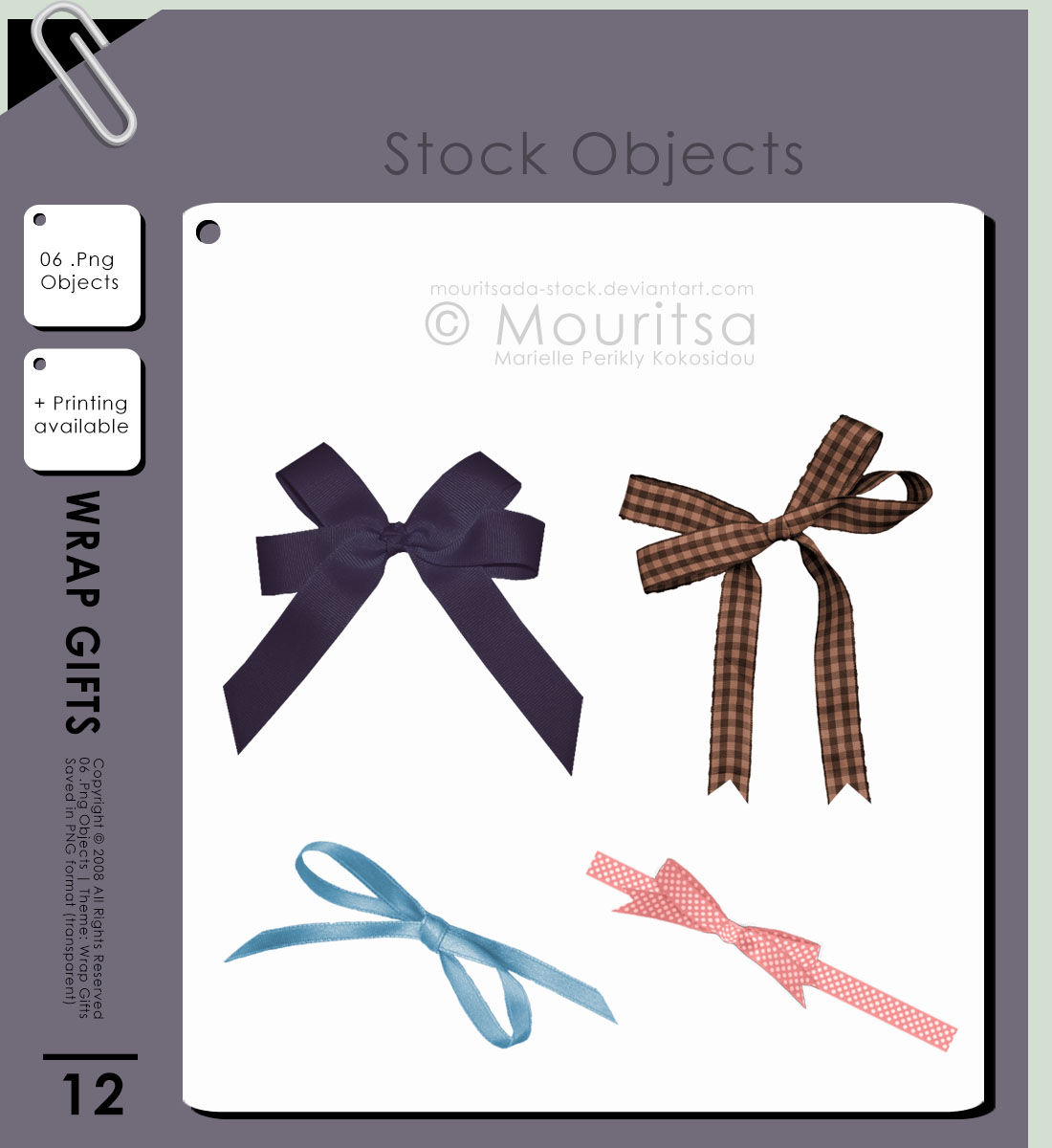 Object Pack - Wrap Gifts by MouritsaDA-Stock