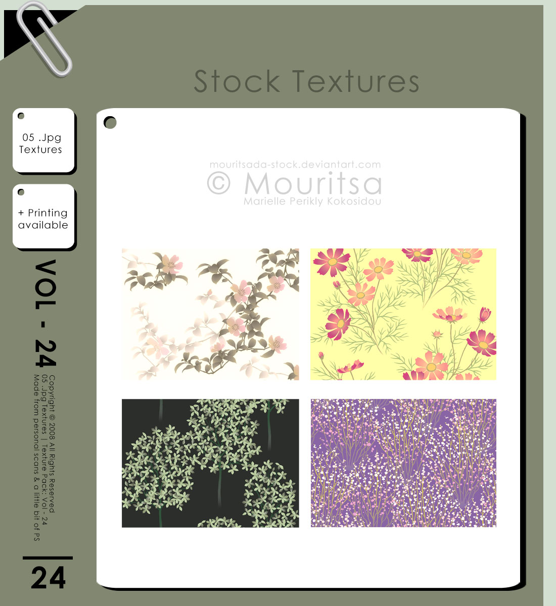 Texture Pack - Vol 24
