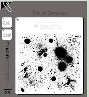 Brush Pack - Splashes Of Paint