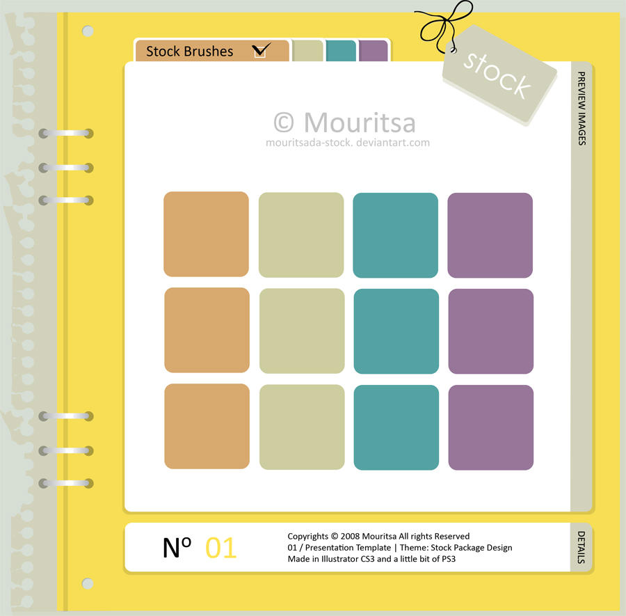 Stock Pack Template by MouritsaDA-Stock