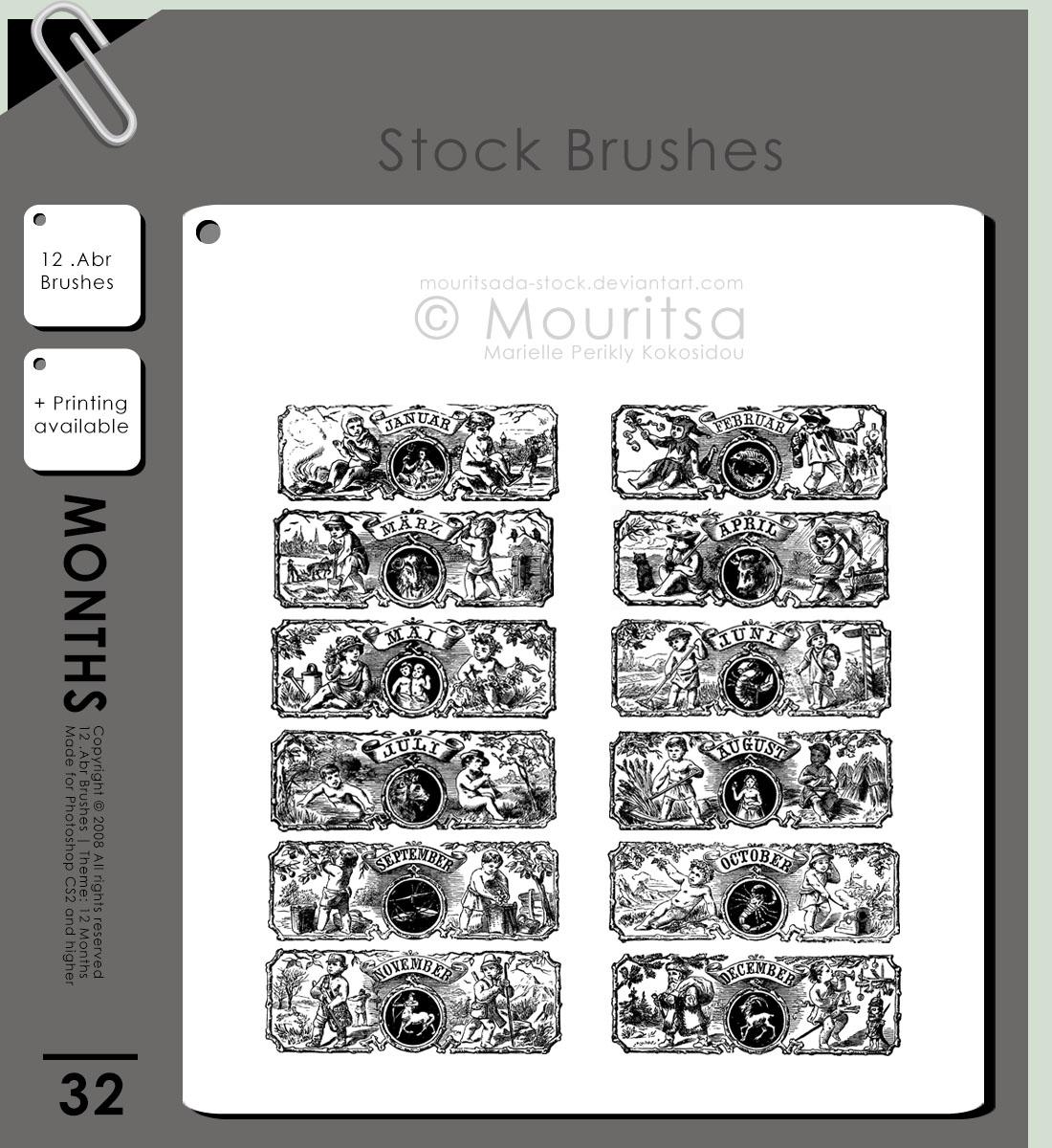 Brush Pack - 12 Months
