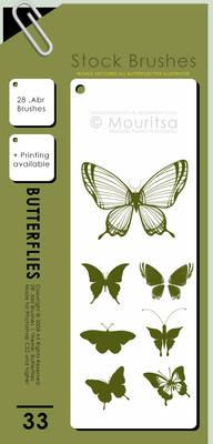 Brush Pack - Butterflies