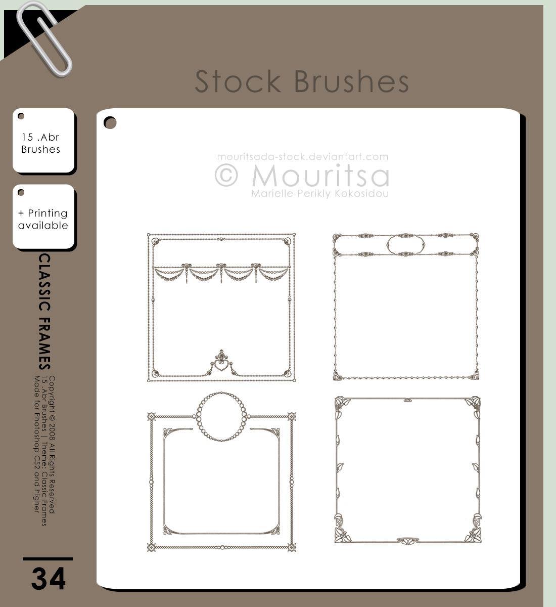 Brush Pack - Classic Frames
