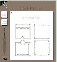 Brush Pack - Classic Frames by iMouritsa