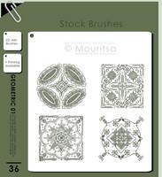 Brush Pack - Geometric 01 by iMouritsa