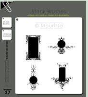 Brush Pack - Frame Ornaments by iMouritsa