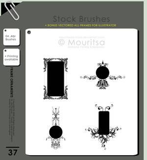 Brush Pack - Frame Ornaments