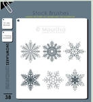 Brush Pack - Snowflakes