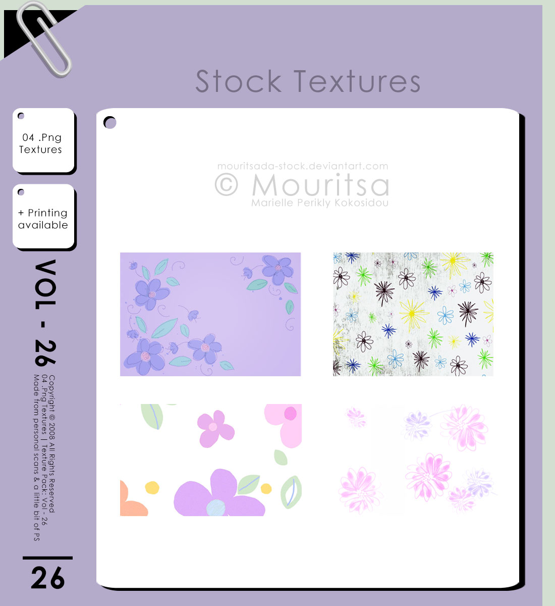 Texture Pack - Vol 26 by MouritsaDA-Stock