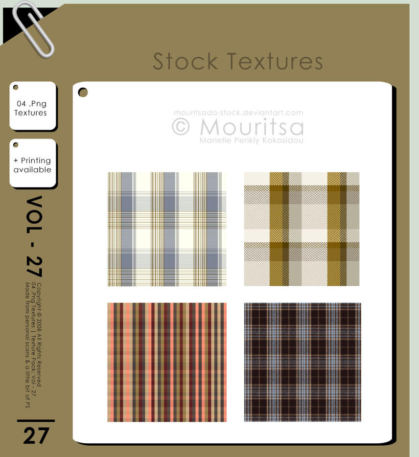 Texture - Vol 27 by MouritsaDA-Stock