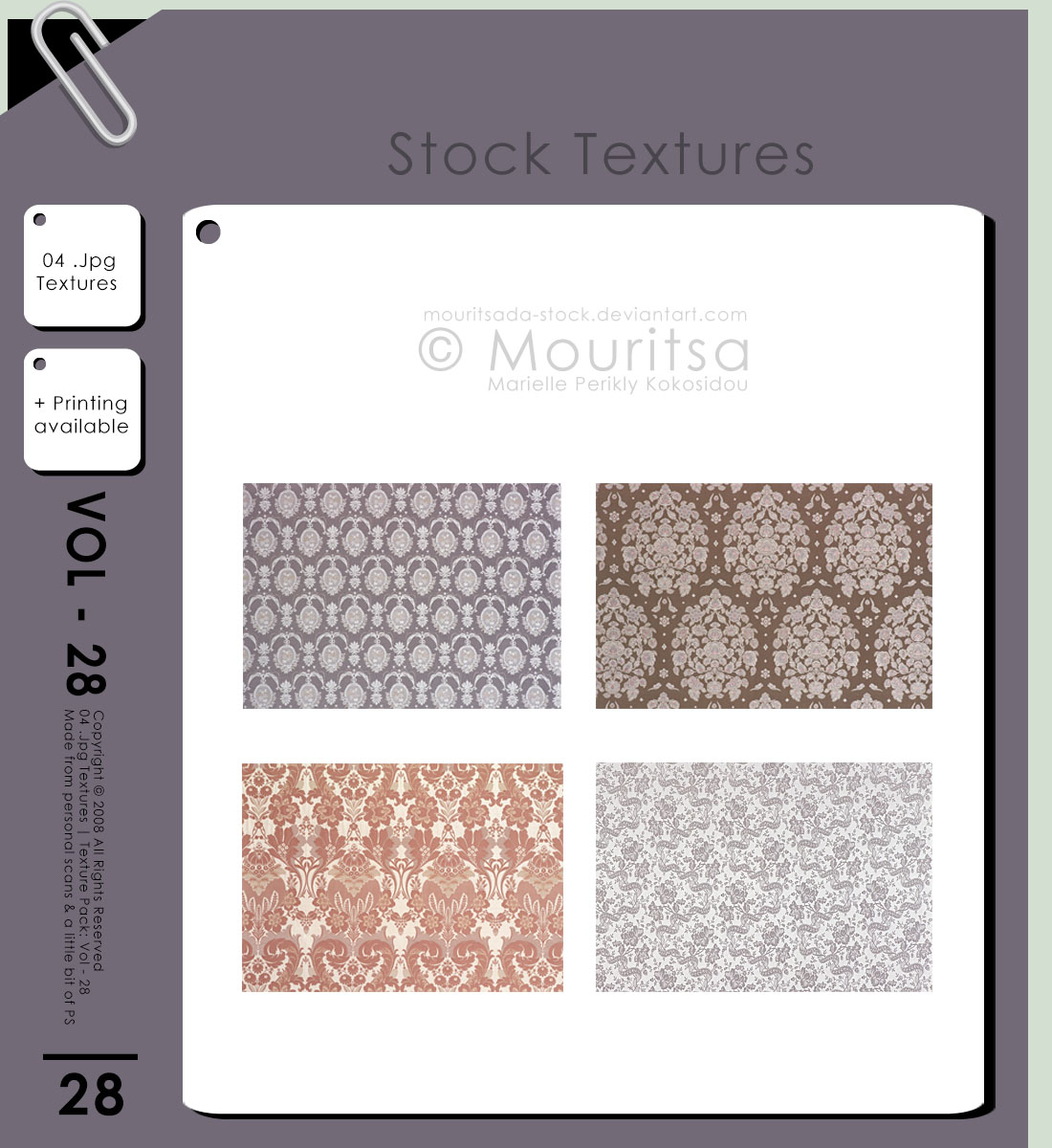 Texture - Vol 28 by MouritsaDA-Stock